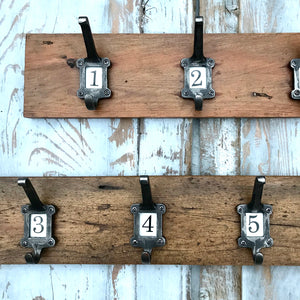 Reclaimed Wood Coat Hook (sold)