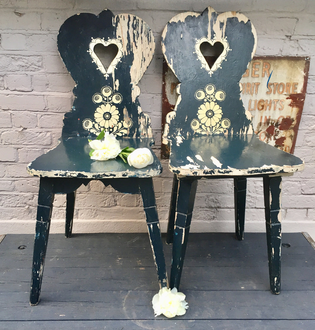 Pair of Swedish Chairs (sold)