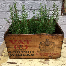 VAT 69 Sanderson & Son Whisky Crate (sold)