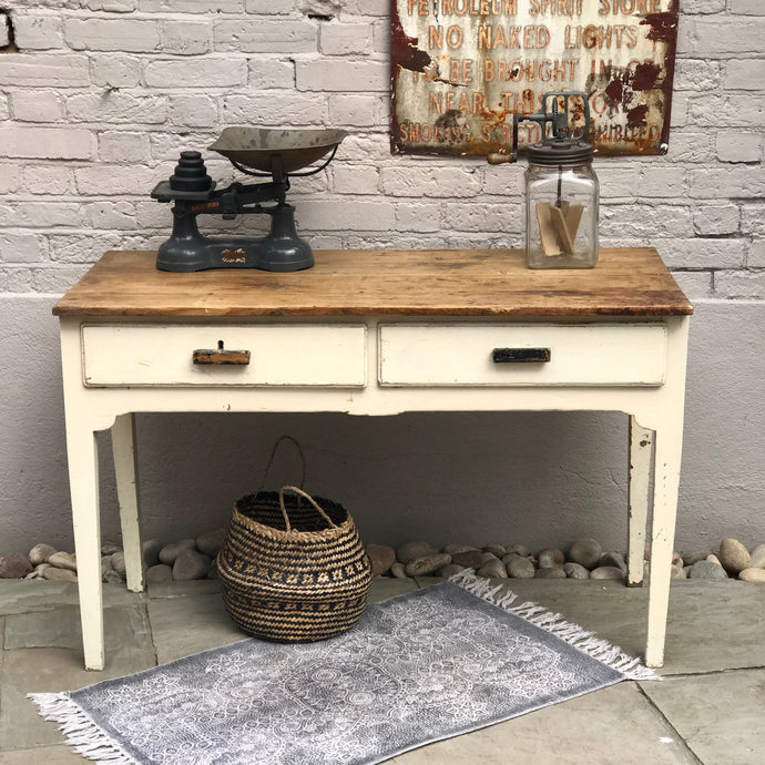 Early 20th Century Farmhouse Table