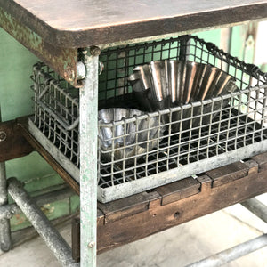 Vintage Industrial Kitchen Console