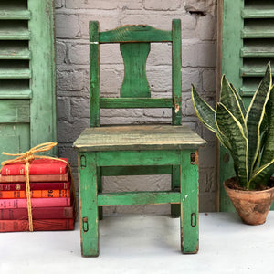 Little Green Chair (sold)