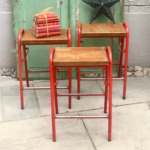 Old School Stools