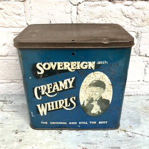 1950s Biscuit Tin
