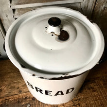 Large 1940s Enamel Bread Bin (sold)