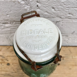 Pair of Vintage L'Ideale Bottles (sold)