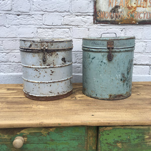 Old Storage Tins (sold)