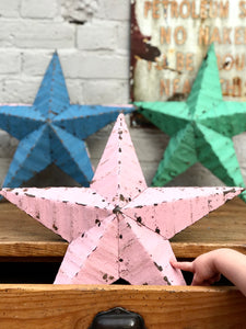 "Pink Barn Star 18"" (sold out)"