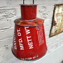 Recycled Industrial Pendant Shade