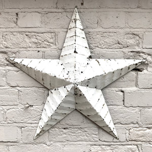 Large White Original Barn Star (sold)