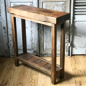 Reclaimed Brick Mould Sidetable (sold)