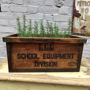 1950s London School Equipment Box (sold)