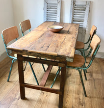 Vintage Industrial Dining Set