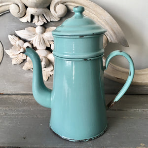 Vintage Enamel Coffee Pot (sold)