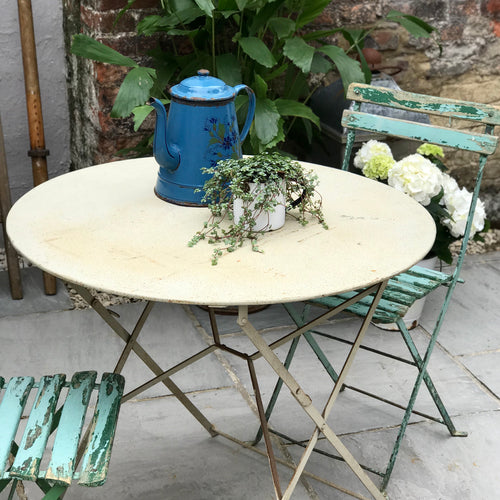 Vintage French Bistro Table