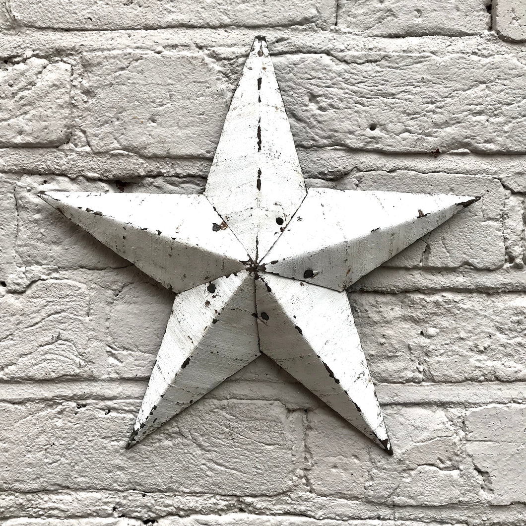 Mini White Original Barn Star (sold)