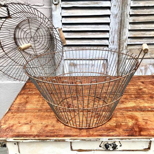 REDUCED Vintage Wire Baskets