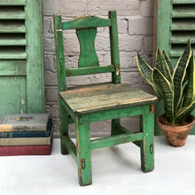 Little Green Chair