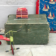 Vintage Military Trunk