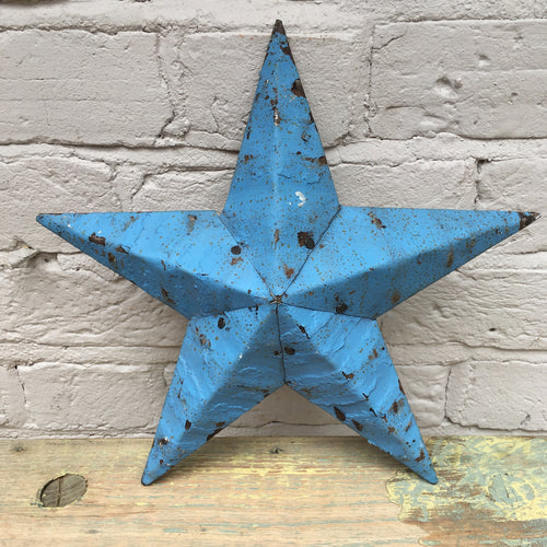 Mini Blue Original Barn Star (sold)