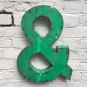 Recycled Ampersand