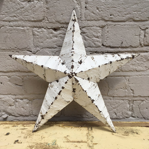 Small White Original Barn Star (sold)