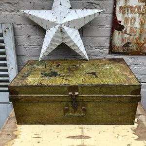 Old Metal Trunk (sold)
