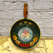 Hand Painted Vintage Pan (sold)