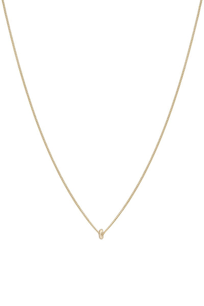 The Rosa Necklace Solid Gold