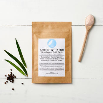 Aches + Pains Himalayan Bath Salt Sachet by Corrine Taylor