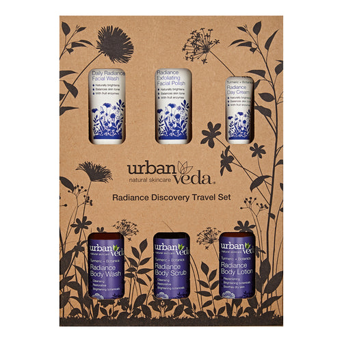 Urban Veda Radiance Complete Travel Set