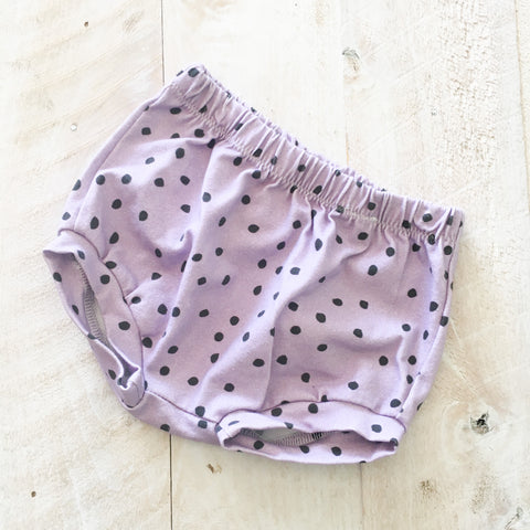 0/3m Purple Dot Shorties