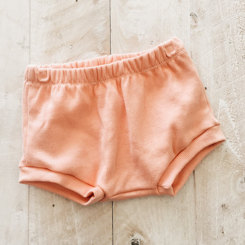 3/6m Peach Shorties