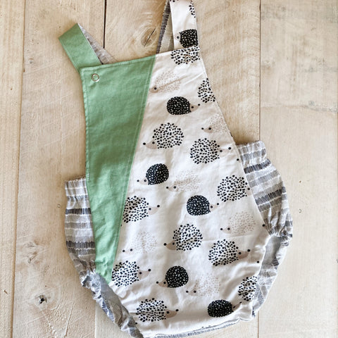 9/12m Hedgehogs Summer Romper