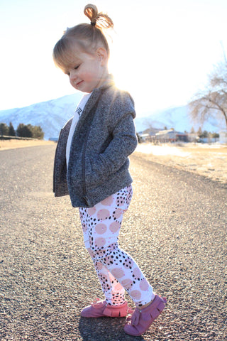 9/12m Pink Dot Legging Pants