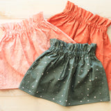 2/3t Moon Phases High Waisted Skirt