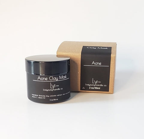 Acne Clay Mask
