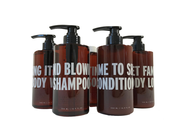 Complete Body & Bath Set | 5 x Large 500ml