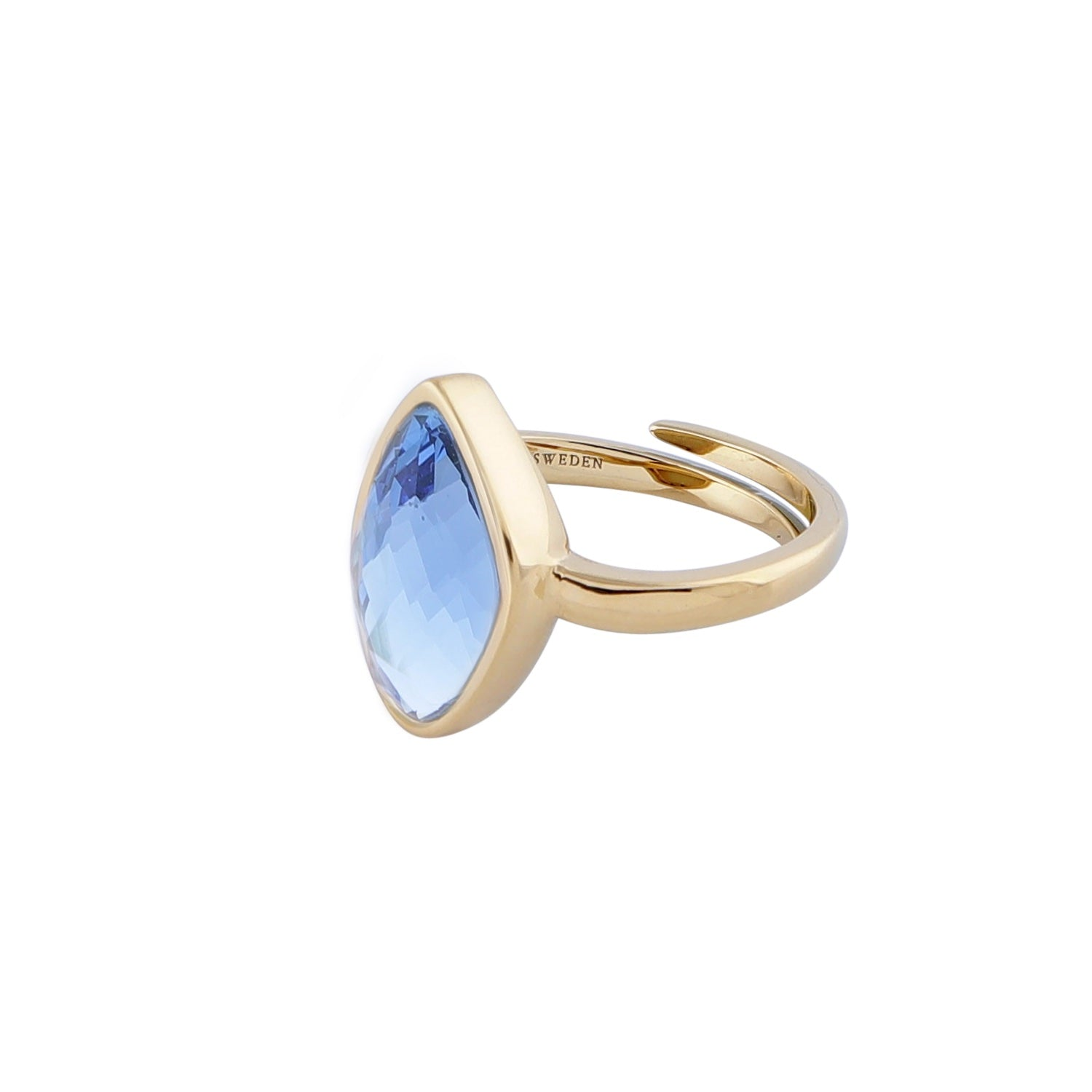 Snowdrop Blue Ring