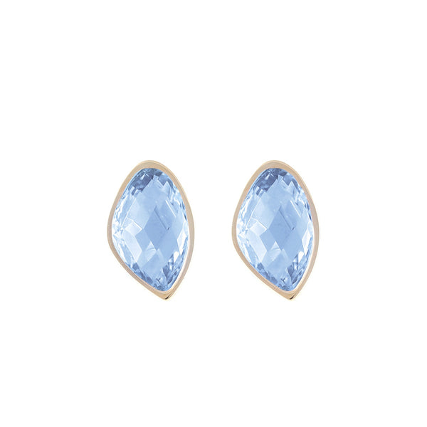 Snowdrop Blue Earrings