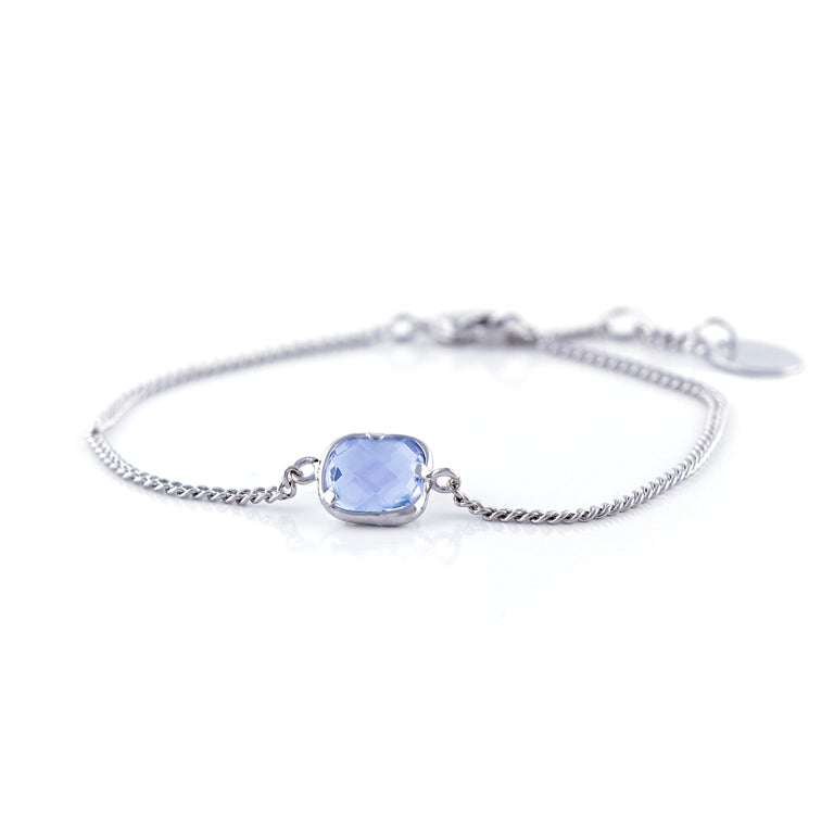 One Piece Blue Bracelet
