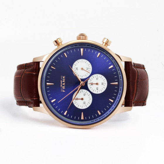 Montpellier Blue Chronograph