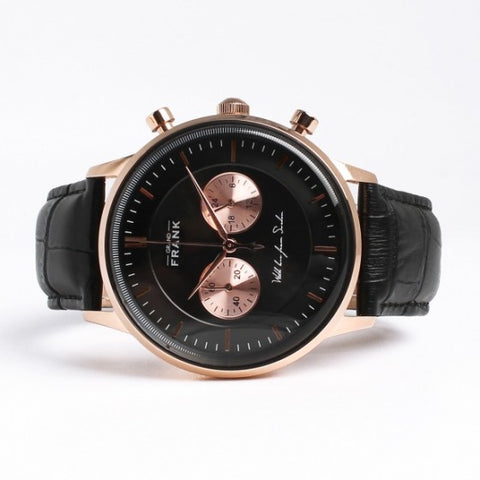 Kingston Black/Rose Watch