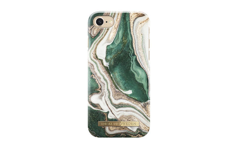 Golden Jade Marble Fashion Case