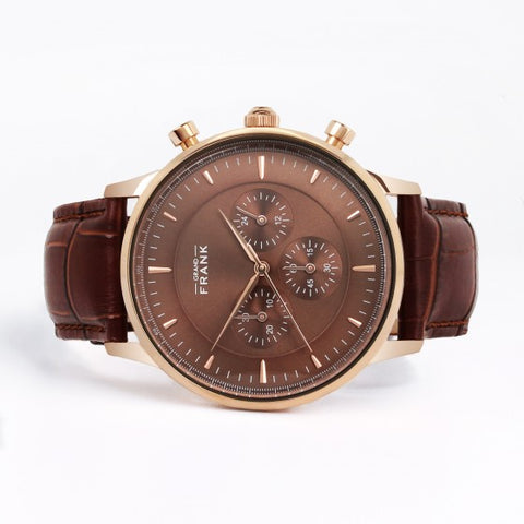 Kingston Brown Leather Watch