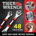 48-in-1 360 Degree Socket Tiger Wrench - Universal Car Repair Tools
