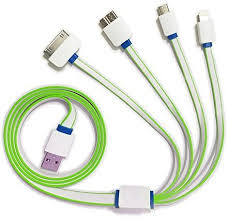 4 in 1 USB Charger Cable (1m)