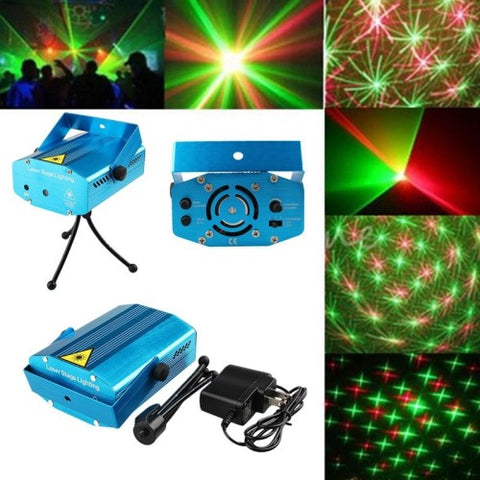 Mini Stage Laser Light