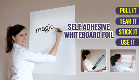 Whiteboard Sticker - 200*45cm