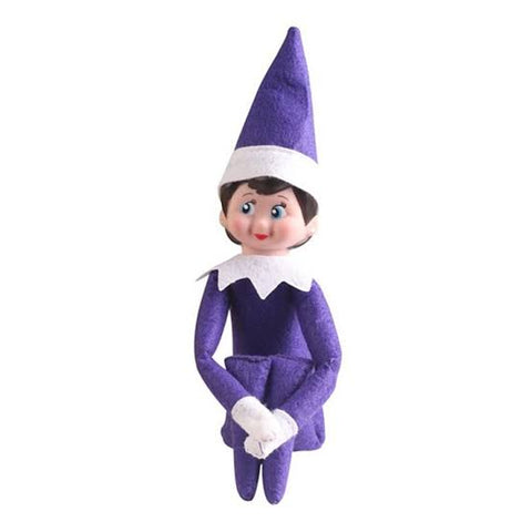 Elf On The Shelf - Purple Girl